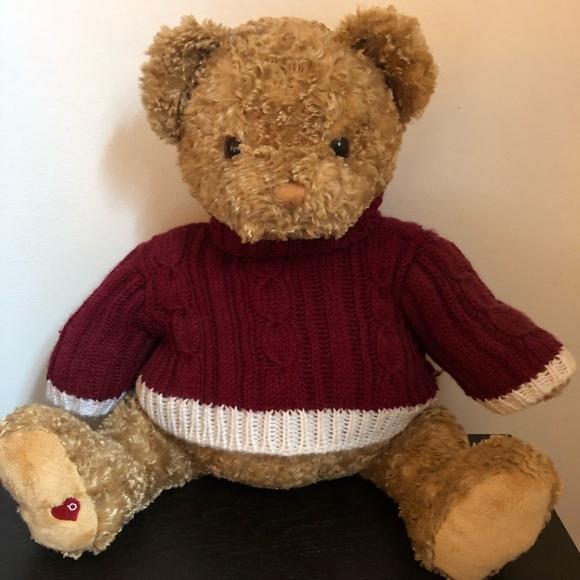 """Like-New Bloomingdales 18"""" Gund Little Brown Bear"""